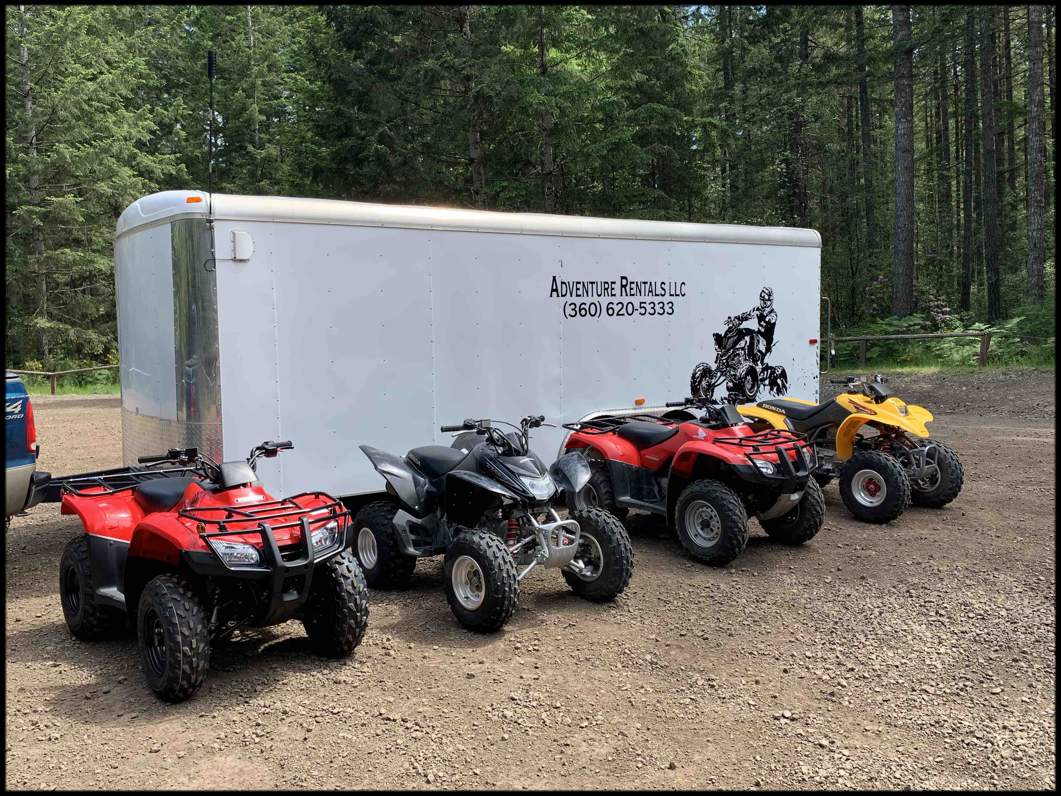 ATV Bikes Available from Adventure Rentals LLC