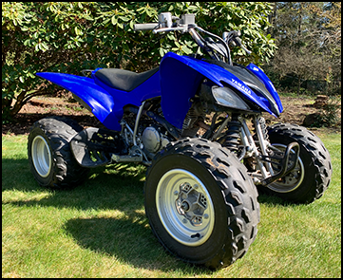 Yamaha Raptor 250 For Off-Roading In Port Orchard, WA