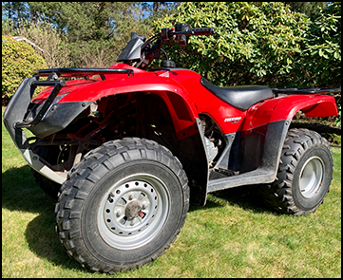 Honda Recon 250 For ATV Rentals In Port Orchard, WA